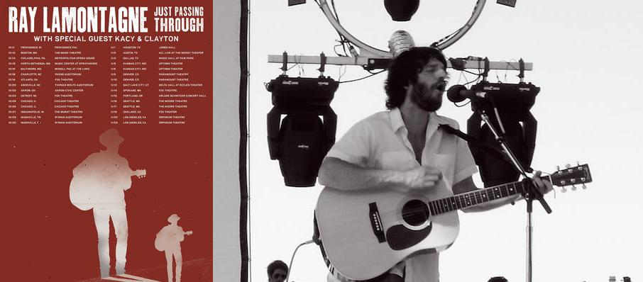 Ray LaMontagne at Eccles Theater