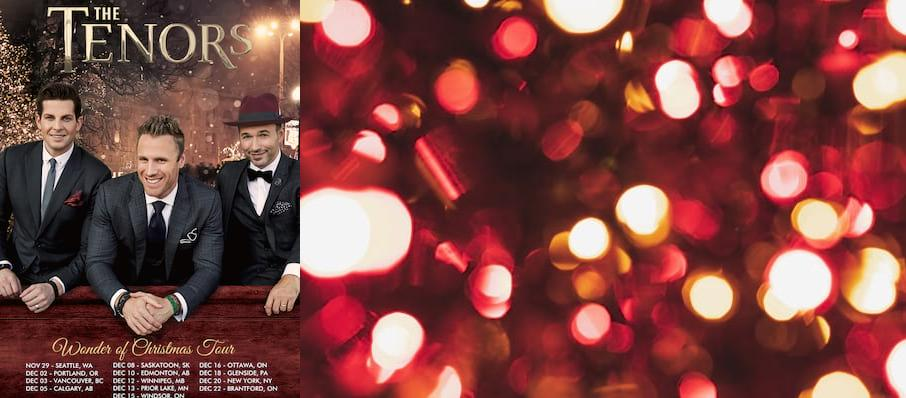 The Tenors at Eccles Theater