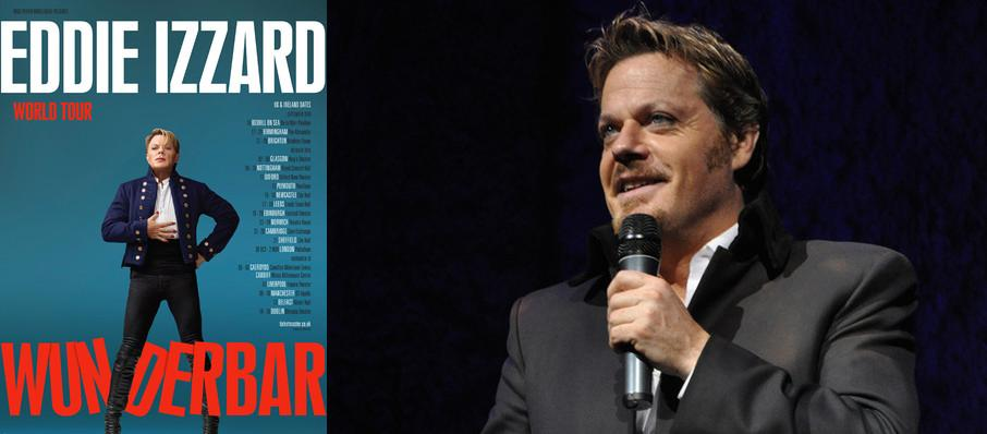 Eddie Izzard at Eccles Theater