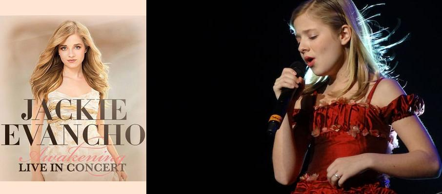 Jackie Evancho at Eccles Theater