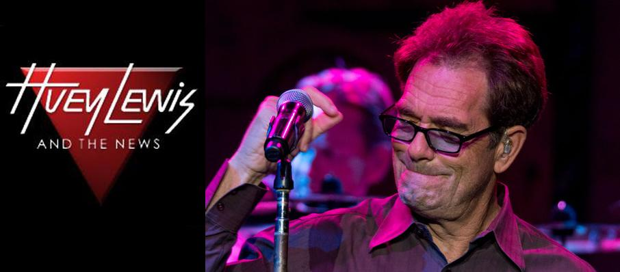 Huey Lewis at Eccles Theater