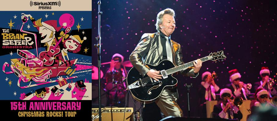 Brian Setzer Orchestra: Christmas Rocks at Eccles Theater