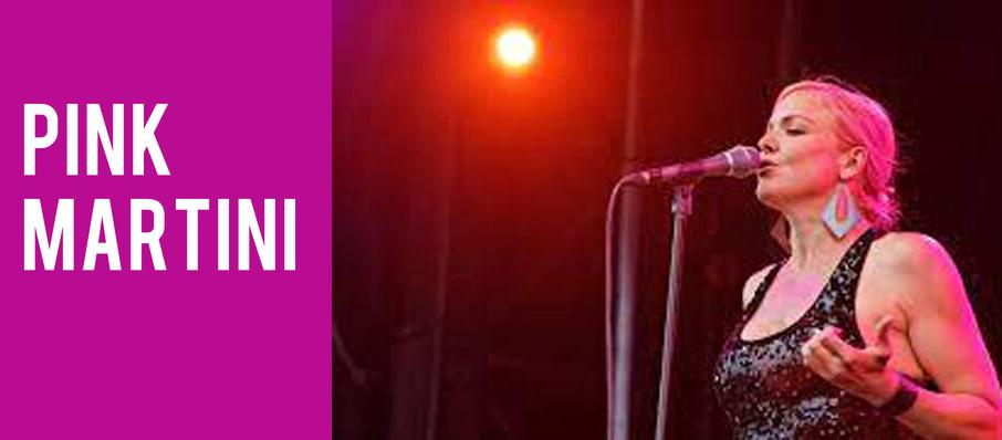 Pink Martini at Abravanel Hall