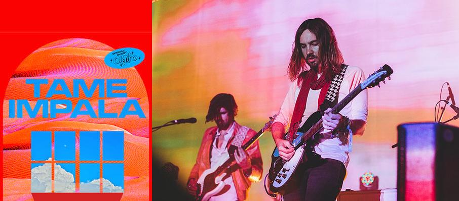 Tame Impala at Vivint Smart Home Arena