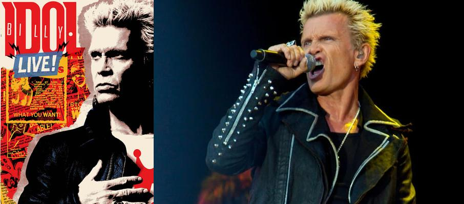 Billy Idol at Red Butte Garden