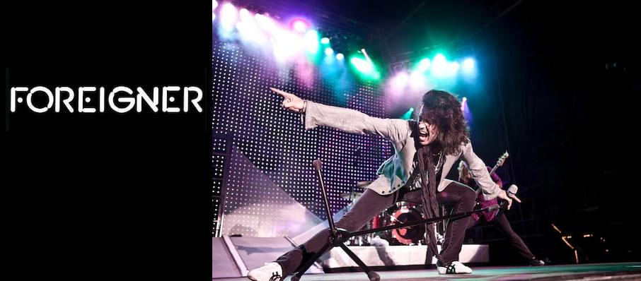 Foreigner at Usana Amphitheatre