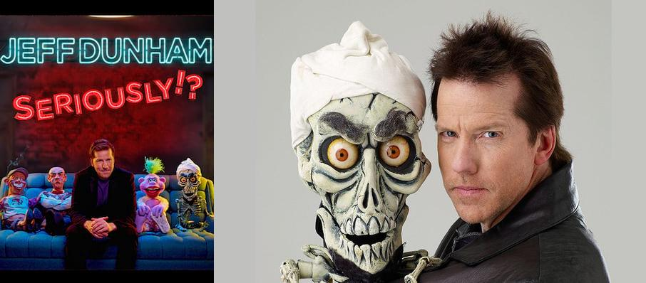 Jeff Dunham at Maverik Center