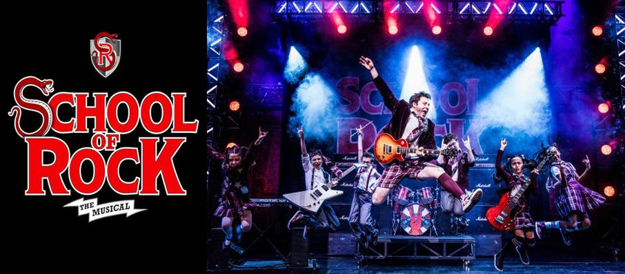 School of Rock at Eccles Theater