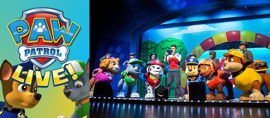 Paw Patrol at Eccles Theater