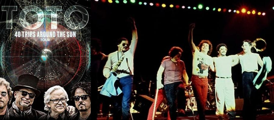 Toto at Eccles Theater