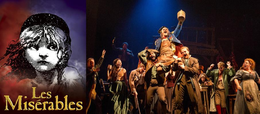 Les Miserables at Eccles Theater