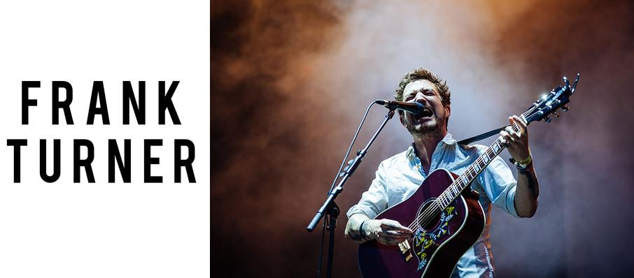 Frank Turner at The Depot