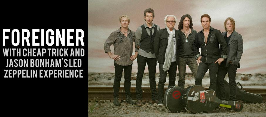 Foreigner with Cheap Trick and Jason Bonhams Led Zeppelin Experience at Usana Amphitheatre