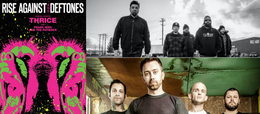 Deftones with Rise Against at Usana Amphitheatre