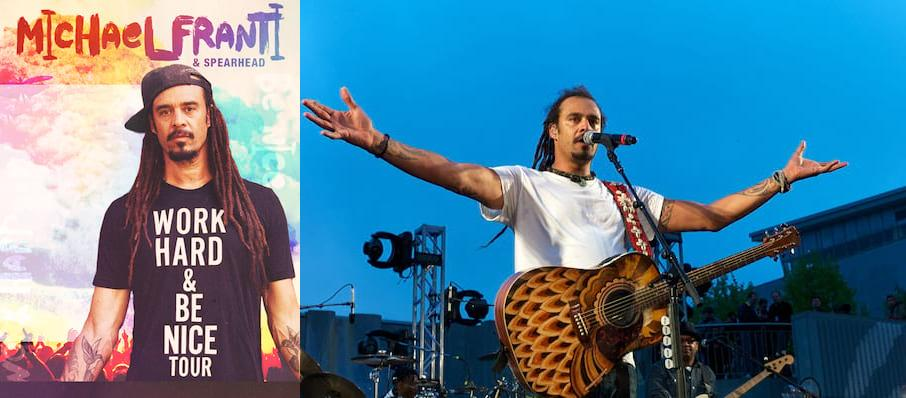 Michael Franti and Spearhead at Deer Valley Outdoor Amphitheatre