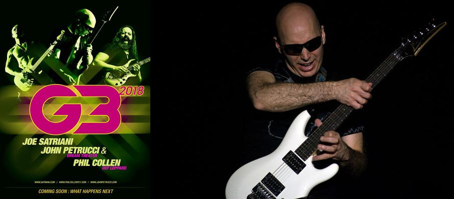 G3 - Joe Satriani, John Petrucci and Phil Collen at Eccles Theater