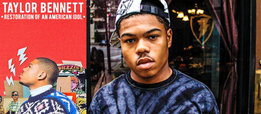 Taylor Bennett at Rockwell At The Complex