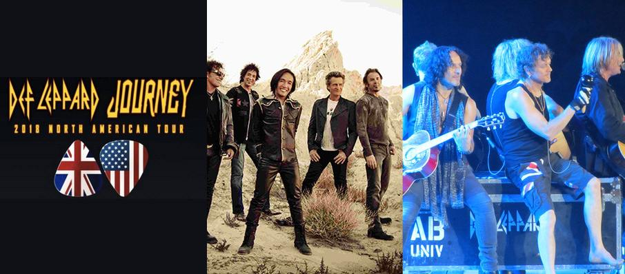 Journey and Def Leppard at Vivint Smart Home Arena