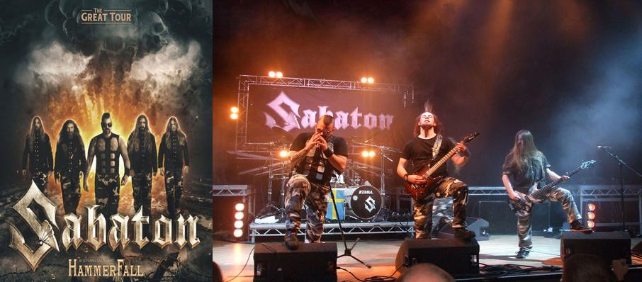 Sabaton at Rockwell At The Complex
