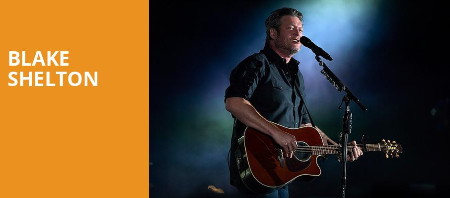 Blake Shelton, Vivint Smart Home Arena, Salt Lake City
