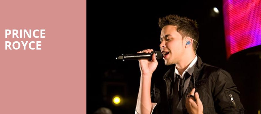 Prince Royce, Rockwell At The Complex, Salt Lake City