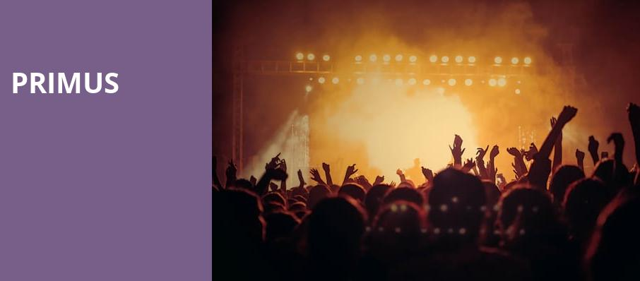 Primus, The Great Saltair, Salt Lake City