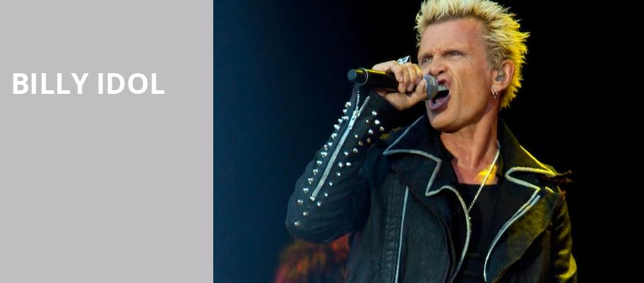 Billy Idol, Red Butte Garden, Salt Lake City