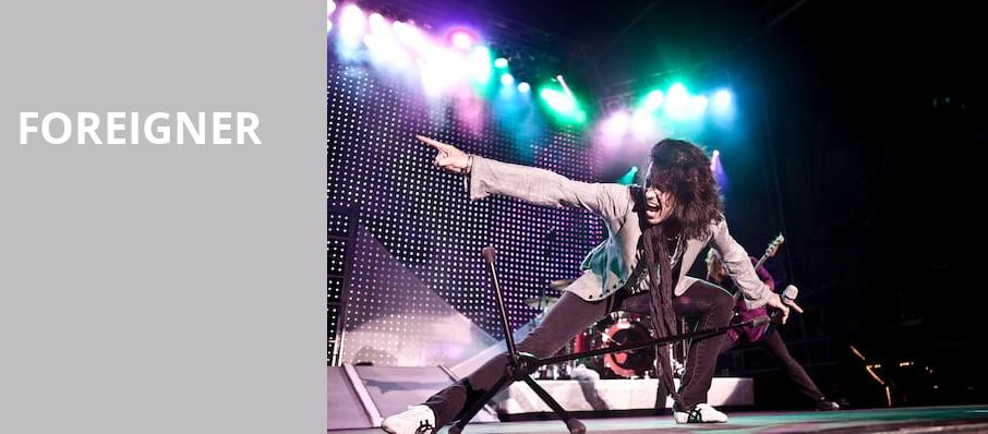 Foreigner, Usana Amphitheatre, Salt Lake City