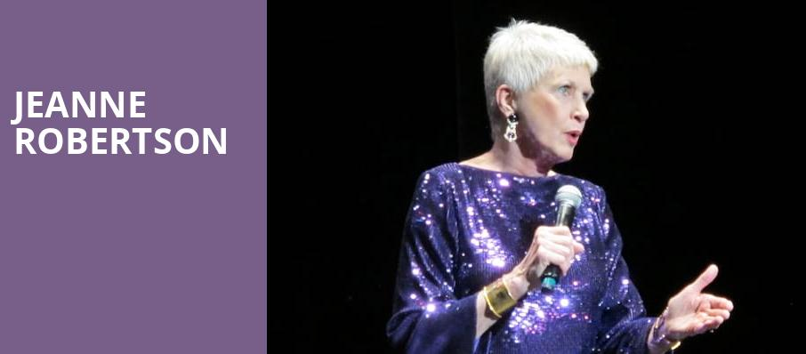 Jeanne Robertson, Eccles Theater, Salt Lake City
