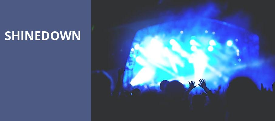 Shinedown, Usana Amphitheatre, Salt Lake City