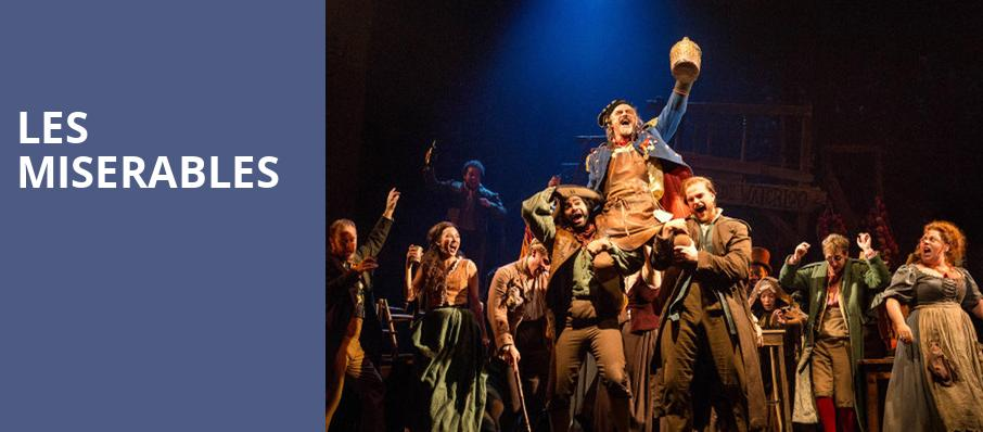 Les Miserables, Eccles Theater, Salt Lake City