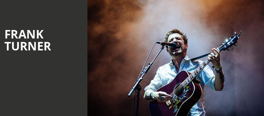 Frank Turner, Rockwell At The Complex, Salt Lake City