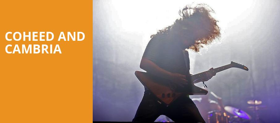 Coheed and Cambria, Union Event Center, Salt Lake City