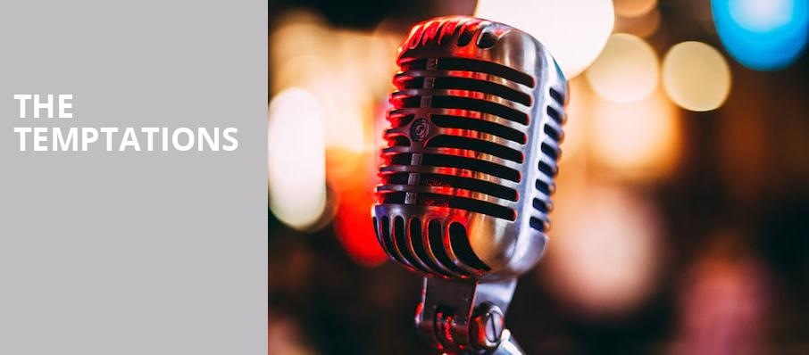 The Temptations, Deer Valley Outdoor Amphitheatre, Salt Lake City
