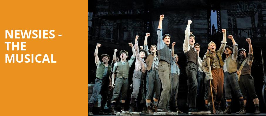 Newsies The Musical, Pioneer Theatre Company, Salt Lake City