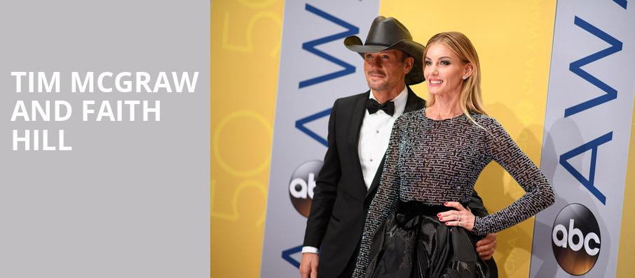 Tim McGraw and Faith Hill, Vivint Smart Home Arena, Salt Lake City