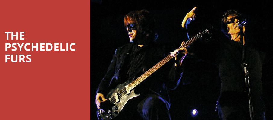 The Psychedelic Furs, Rockwell At The Complex, Salt Lake City