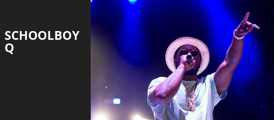 Schoolboy Q, Rockwell At The Complex, Salt Lake City