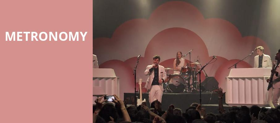 Metronomy, The Urban Lounge, Salt Lake City