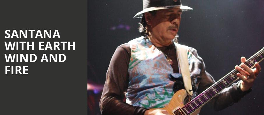 Santana with Earth Wind and Fire, Usana Amphitheatre, Salt Lake City
