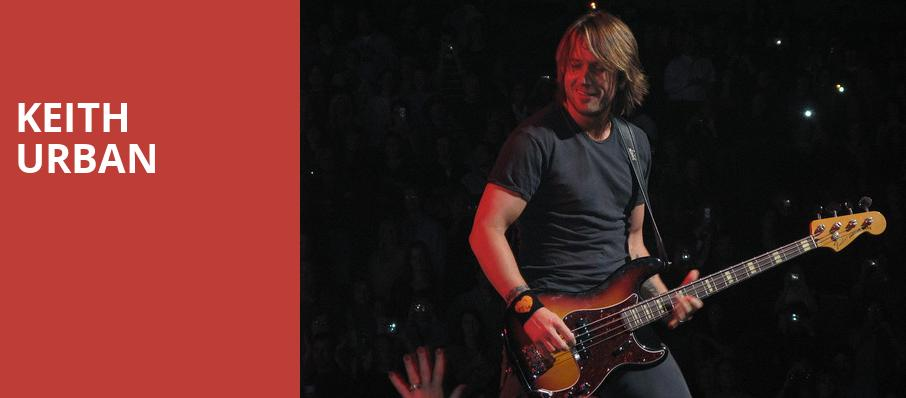 Keith Urban, Usana Amphitheatre, Salt Lake City