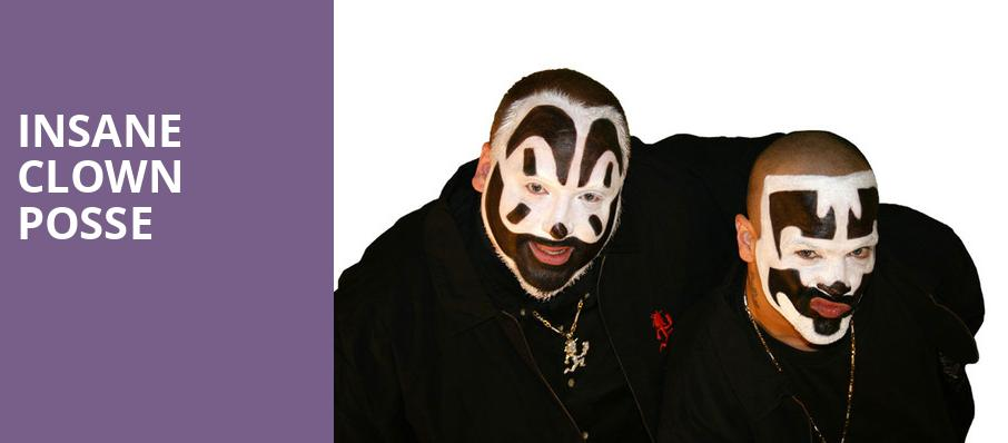 Insane Clown Posse, The Grand At The Complex, Salt Lake City