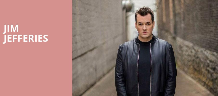 Jim Jefferies, Eccles Theater, Salt Lake City