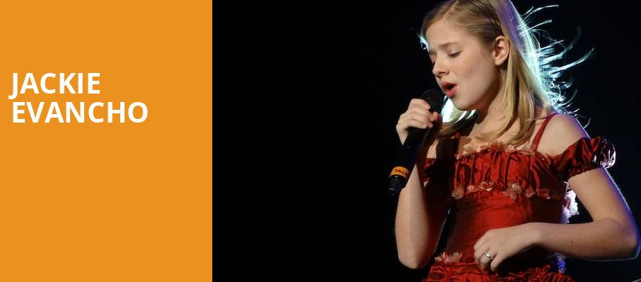 Jackie Evancho, Eccles Theater, Salt Lake City