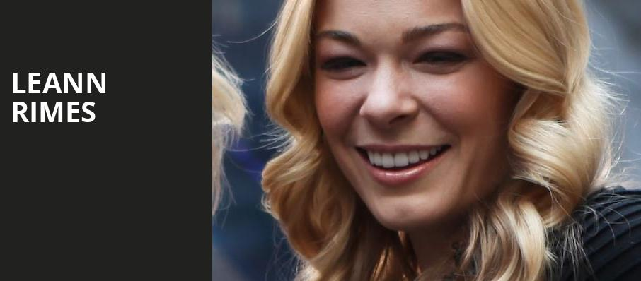 LeAnn Rimes, Abravanel Hall, Salt Lake City