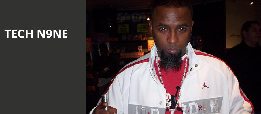 Tech N9ne, Rockwell At The Complex, Salt Lake City