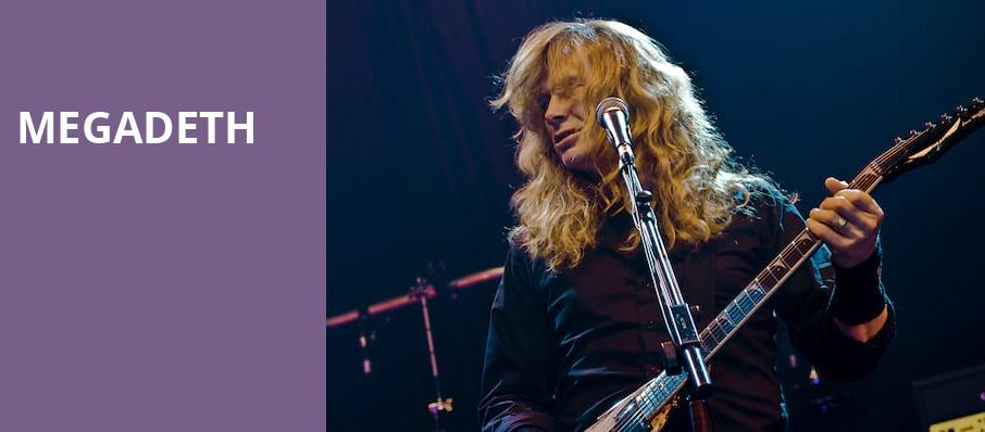 Megadeth, Usana Amphitheatre, Salt Lake City