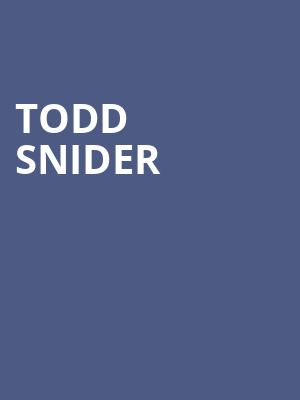 Todd Snider, The State Room, Salt Lake City